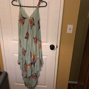 Never worn Flower sundress.